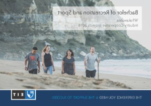 Bachelor of recreation and sport prospectus cover: Sp要么t and recreation courses at EIT